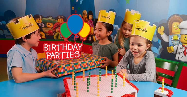 Birthday Parties at LEGOLAND Discovery Centre